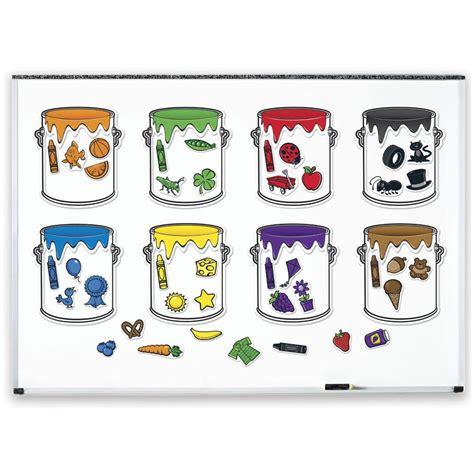 les pots de peintures magn 233 tiques learning resources apprendre les formes et les couleurs
