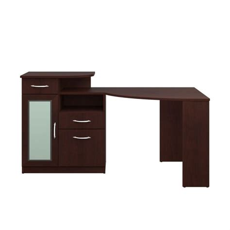 bush vantage corner home office computer desk in harvest cherry hm66615a 03