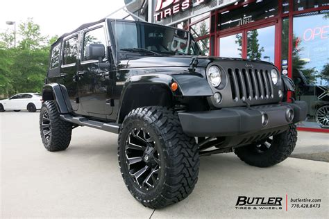 jeep wrangler custom wheels fuel assault 20x et tire