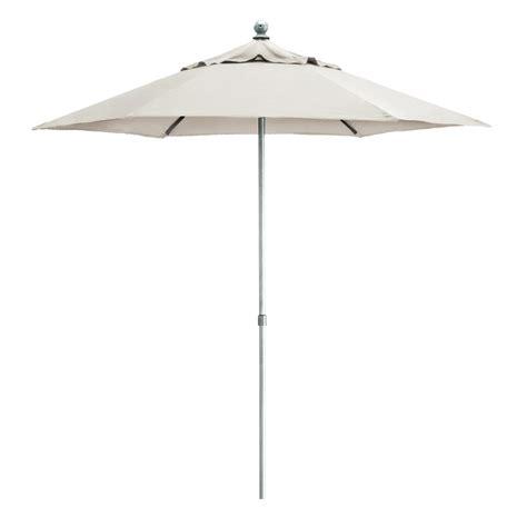 kettler parasol 2 5m wind up with tilt aluminium frame canopy