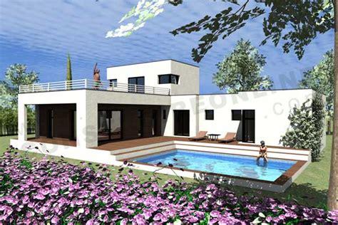 maison de ville avec piscine toit plat 12 jpg 600 215 400 pixels maison kansas