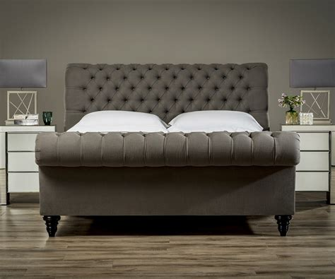 Stanhope Studded Chesterfield Bed  Upholstered Beds From