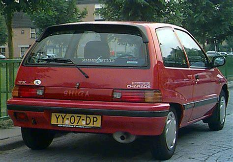 Daihatsu Charade Ts Diesel 1987