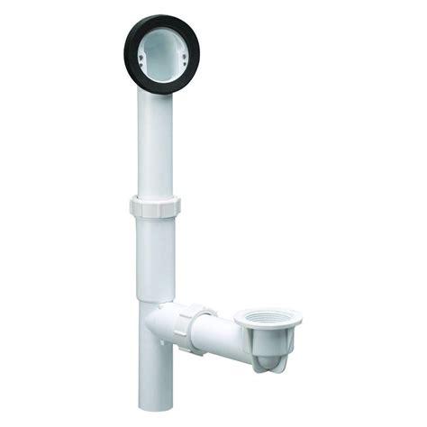 home depot bathtub drain design house pvc in bath drain kit with overflow