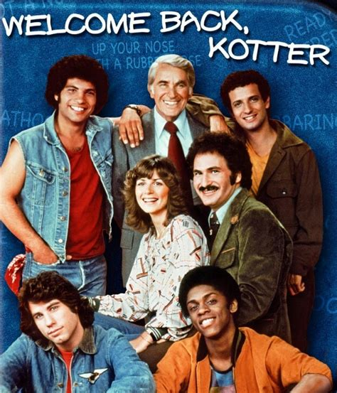 Welcome Back Kotter Cast by Welcome Back Kotter Tv Back In The Day Pinterest