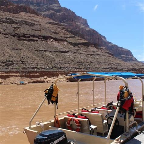 Grand Canyon Pontoon Boat Tours by Grand Canyon Bus Helicopter Boat Tour Canyontours