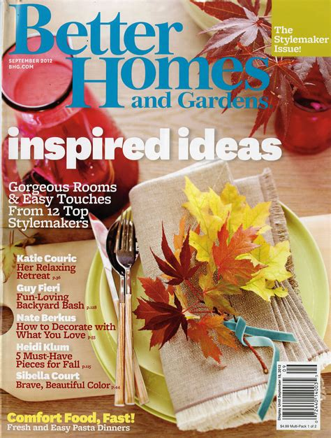 Better Homes Gardens Magazine a sign of the times from better to to a new