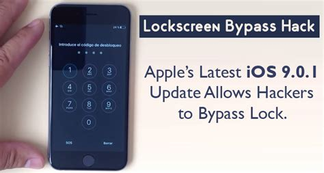 Latest Ios 9.0.1 Update Failed To Patch Lockscreen Bypass Hack Iphone Se 64gb Jarir Lifeproof Fre 6 Headphone Jack At&t New Case Test India Availability 6s Power 16gb Enough Or Not Car Mount