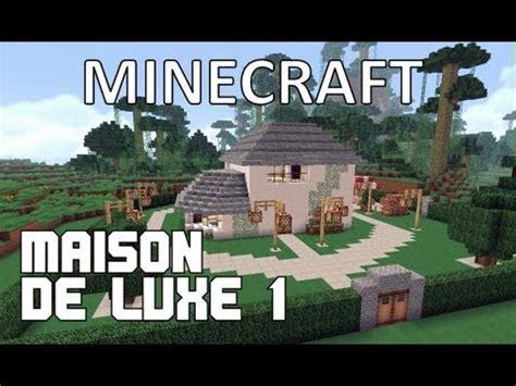minecraft maison de luxe 1