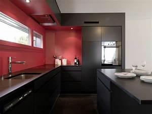 Küche Rot Streichen : 66 wandgestaltung k che ideen wie erreicht man den erw nschten k chen look ~ Markanthonyermac.com Haus und Dekorationen