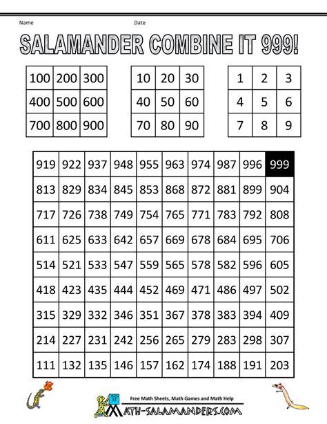 Worksheet Math Game Worksheets Grass Fedjp Worksheet Study Site