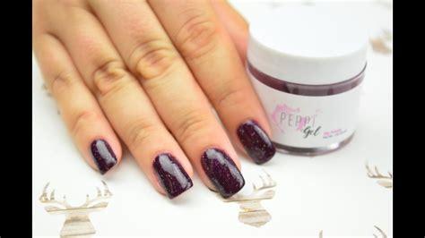 At Home Dip Powder Nail Application