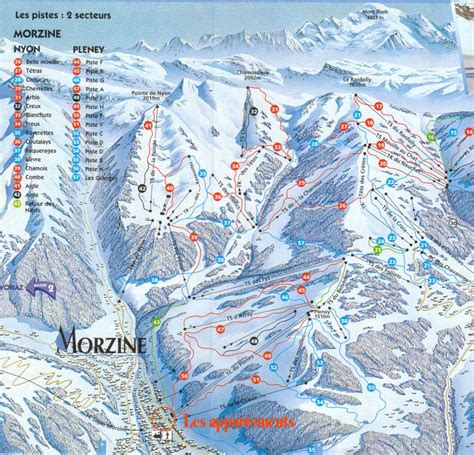 morzine avoriaz alpine ski information itinerary