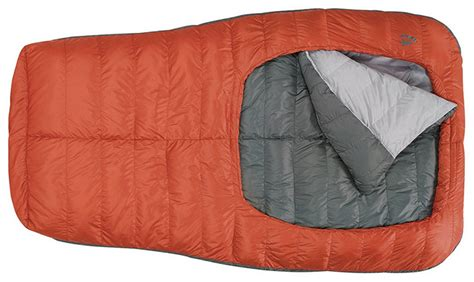two climbers one sleeping bag backcountry bed put to test on rainier