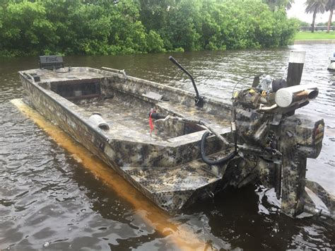 Duck Hunting Boat Death by Boat Inventory Florida Duck And Mud Boats