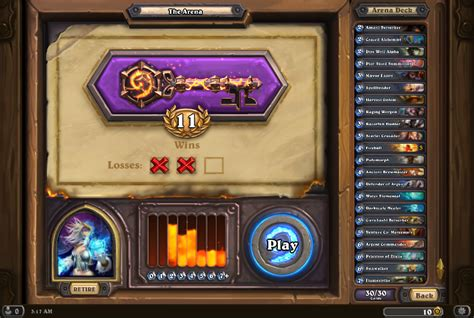 best arena mage deck no legendaries or epics the