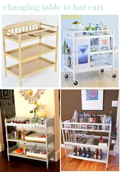 comment recycler une table 224 langer astuces et recyclage diy changing table bar