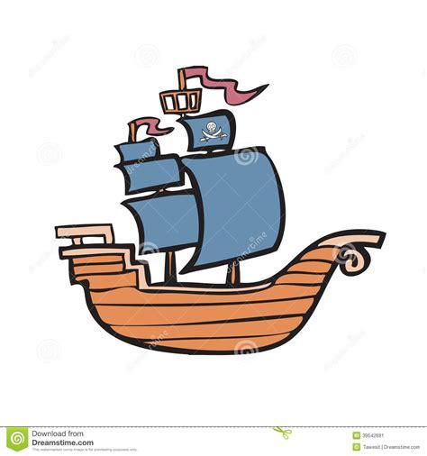 Barco Pirata Ilustracion by Barco Pirata Stock De Ilustraci 243 N Ilustraci 243 N De M 225 Stil