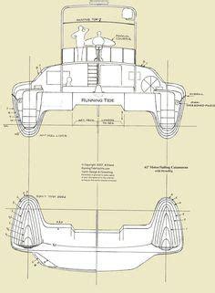 Catamaran Hull Lines by How Build Catamaran Plans Free Download Katamaran
