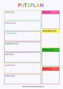 Wochenplan Haushalt Familie : putzplan putzplan deutsch putzplan vorlage putzplan familie putzplan wg putzplan ausdrucken ~ Markanthonyermac.com Haus und Dekorationen