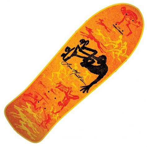 powell peralta bones brigade lance mountain future primitive orange series 5 deck skateboard