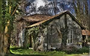 la maison dans le bois hdr ruine objet fond d 233 cran