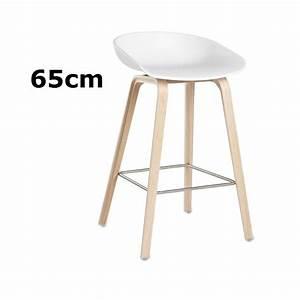 Barhocker 65 Cm : hay about a stool barhocker aas 32 65cm wei hee welling object designprodukte online kaufen ~ Markanthonyermac.com Haus und Dekorationen