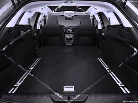 Sw Boat Video by All New 2014 Peugeot 308 Sw Interior Boot Space Youtube