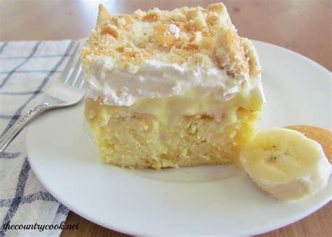 cheryl s cooking banana poke cake