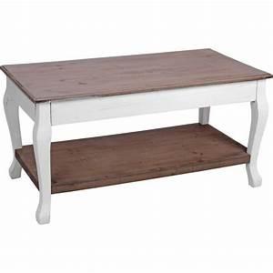 Beistelltisch Weiß Holz : beistelltisch 46x46x90cm wei braun holz pflanztisch holztisch salontisch ~ Markanthonyermac.com Haus und Dekorationen