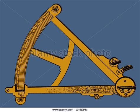Sextant Measures by Measuring Device And Sextant Stock Photos Measuring