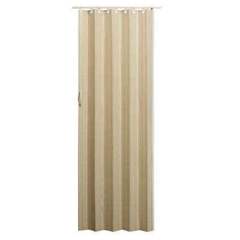 accordion doors home depot spectrum 36 in x 80 in nuevo vinyl linen accordion door