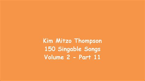 150 Singable Songs Volume Two (part