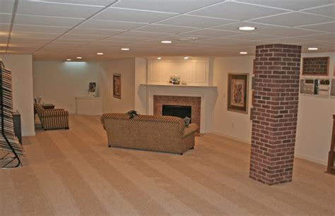 Basement Finished Ideas On A Budget With Low Ceiling