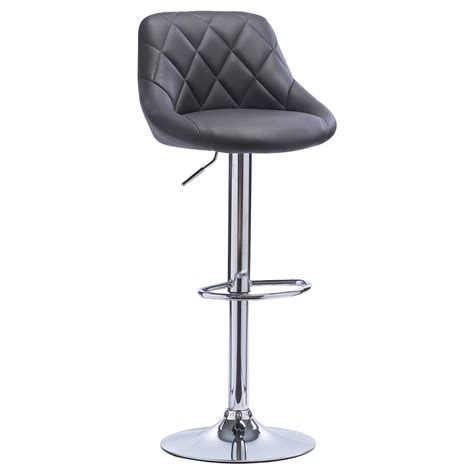 1 tabouret de bar pivotant 224 en cuir synth 233 tique chaise cuisine r 233 glable f015 ebay