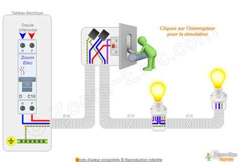 montage cblage branchement dun interrupteur simple