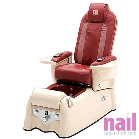lexor elite platinum pipeless pedicure foot spa chair with back roller the nail