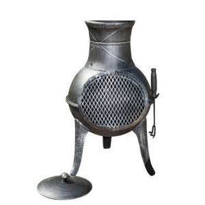 La Hacienda Panama Cast Iron & Steel Mix Chimenea