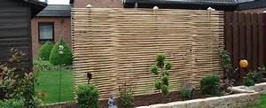 Sichtschutzzaun Bambus Holz : bambus sichtschutz sichtschutz terrasse sichtschutz balkon ~ Markanthonyermac.com Haus und Dekorationen