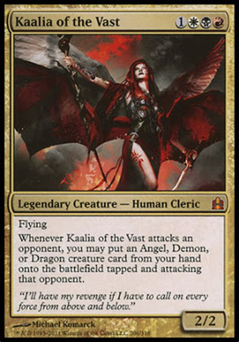 commander tech kaalia of the vast