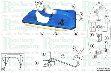 Pelican Paddle Boat Drain Plug by Parts From Pedalboat
