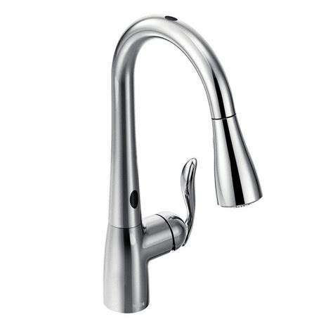moen 7594ec chrome single handle pullout spray kitchen