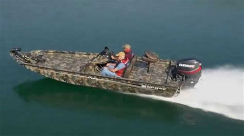 Ranger Aluminum Boats Youtube by 2015 Ranger Aluminum Rt188c Camo Running Footage Youtube