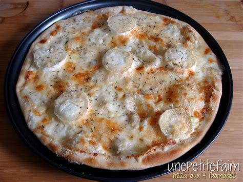 pizza aux 4 fromages une faim