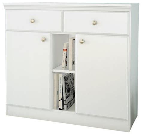 south shore storage console in white transitional console tables by cymax