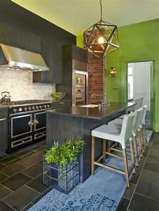 Küche Farbe Wand : 55 wundersch ne ideen f r k chen farben stil und klasse ~ Markanthonyermac.com Haus und Dekorationen