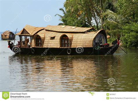 Houseboat In Hindi by Houseboat In India Royalty Free Stock Photography Image