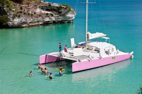 Catamaran In Bermuda by Book A Charter On The Restless Native Private And