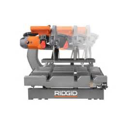 ridgid 10 in tile saw with stand toros outlet a true outlet place