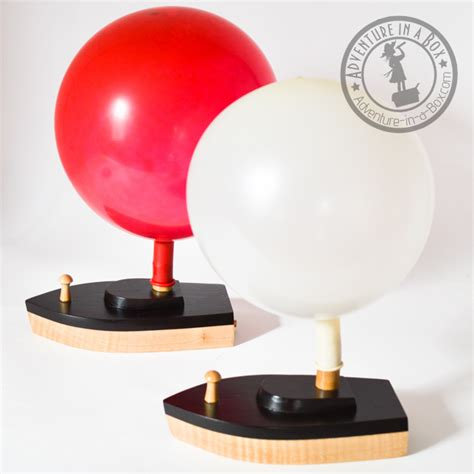 Easy Toy Boat by Diy Balloon Powered Wooden Toy Boat Adventure In A Box